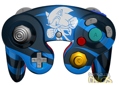 sonic gamecube custom controllers controller chaos