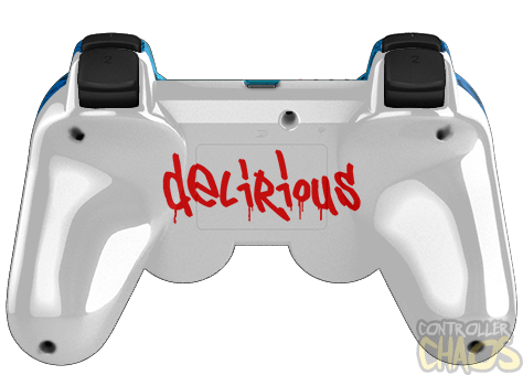 Custom Controllers - Playstation 3 - Rapid Fire - H20 ... H20 Delirious Controller