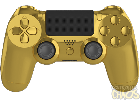 Chrome Gold Edition Ps4 Modded Controller Controller Chaos