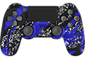 Blue Splatter