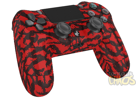 Red Tiger Ps4 Modded Controller Controller Chaos