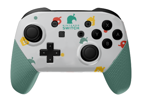 Animal Crossing Nintendo Switch Pro Custom Controllers