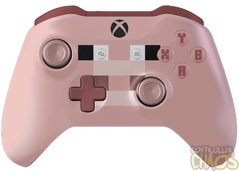 Minecraft Pig Xbox One S Custom Controllers Controller Chaos