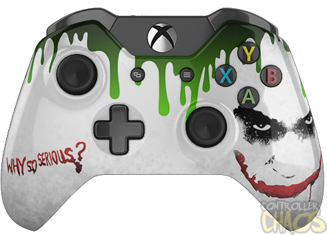 Why So Serious Xbox One Custom Controllers Controller Chaos